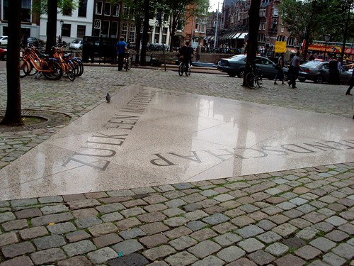 Homomonument in Amsterdam, the Netherlands