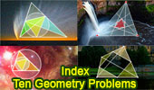 Ten Geometry Problems - Visual Index