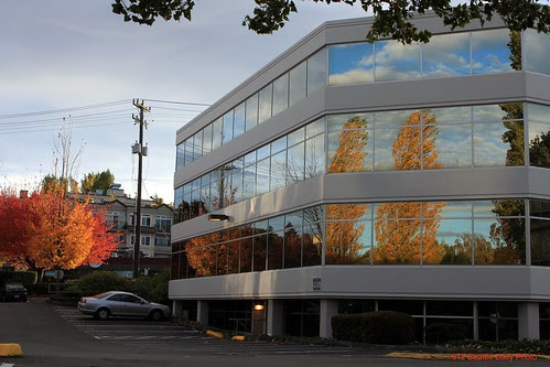 Autumn Reflection by Seattle Daily Photo