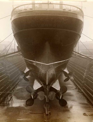 Stern of Mauretania