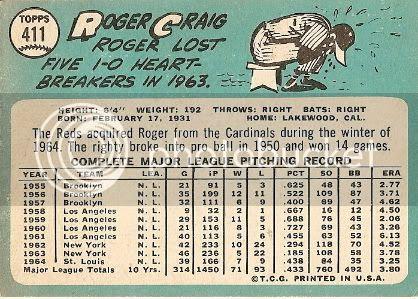 #411 Roger Craig (back)