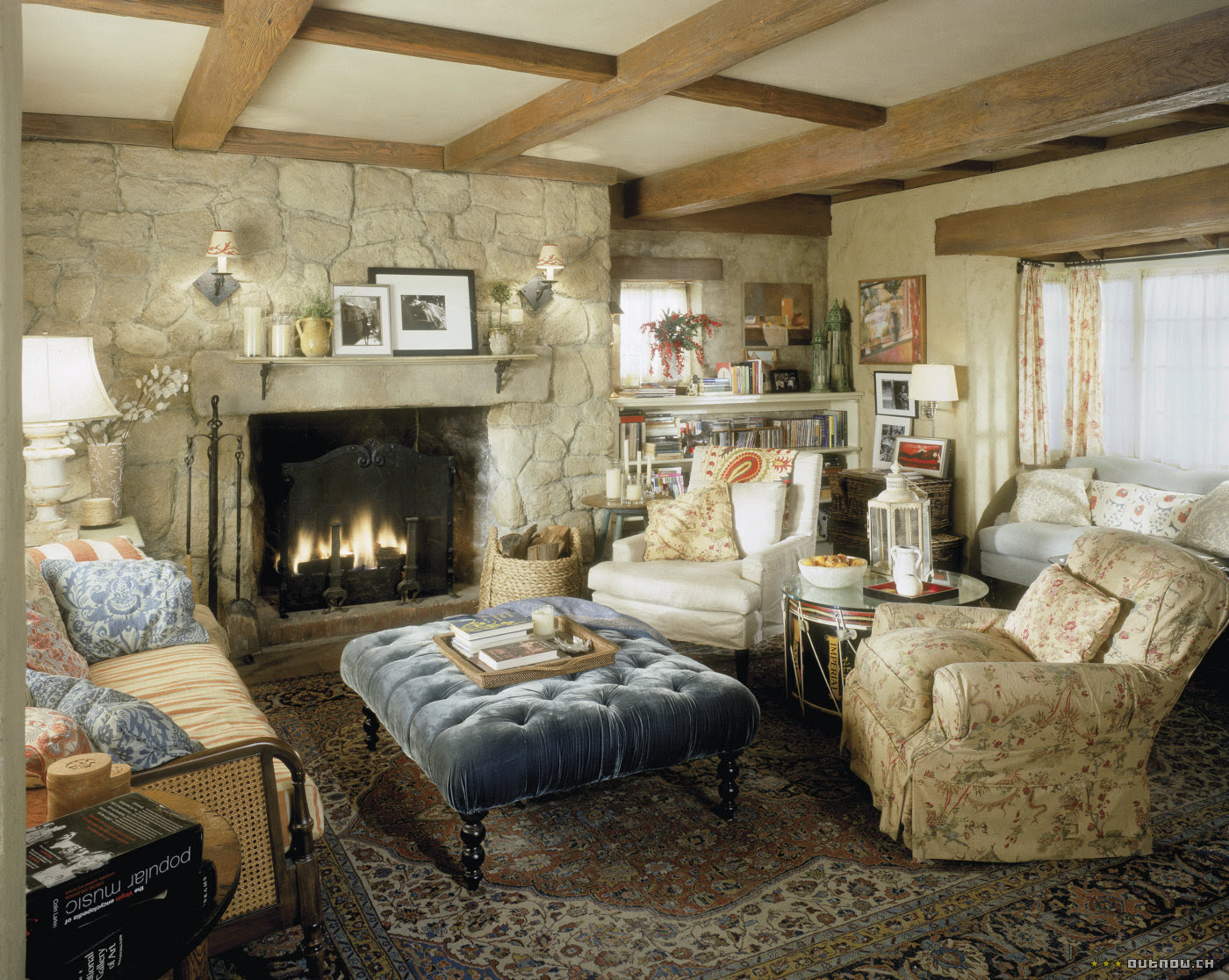 cottage house interior design. Produktionsbild  Sets zu The Holiday COTE DE TEXAS Uncomplicated Nancy Meyers Own Home