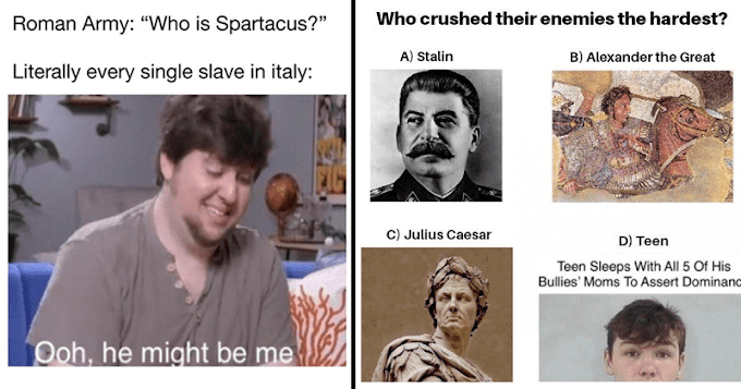 Dank History Memes For A Funny Blast From The Past