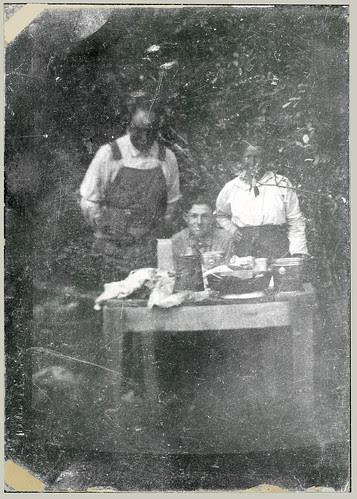 Three at a picnic
