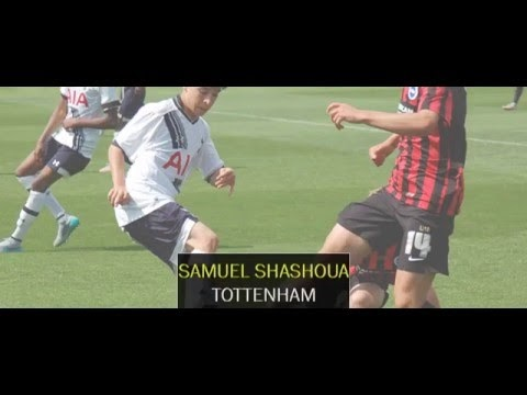 Video: Samuel Shashoua in match action