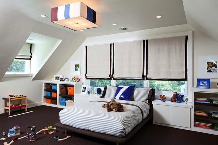 Kids Storage Ideas - Contemporary - boy's room - Melanie Morris Design