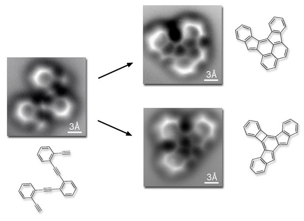 Berkeley Lab spies a molecule forming atomic bonds