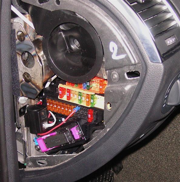 Audi Q7 Diy Hard Wiring Radar Detector In A Q7