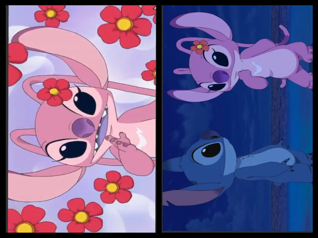 Angelstitch Stitch X ángel Fan Art 35351630 Fanpop