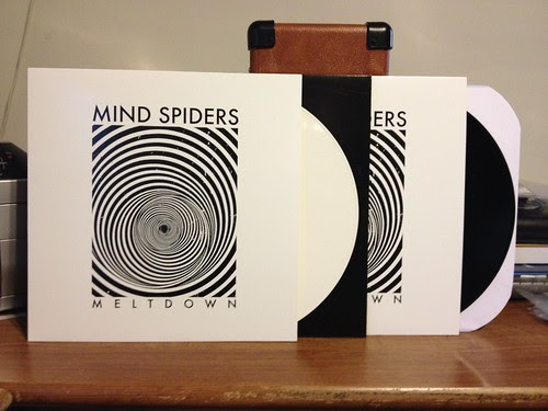 Mind Spiders - Meltdown LP - White Vinyl (/200) & Black Vinyl by Tim PopKid