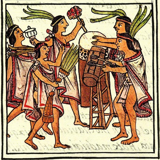 drums from florentine codex