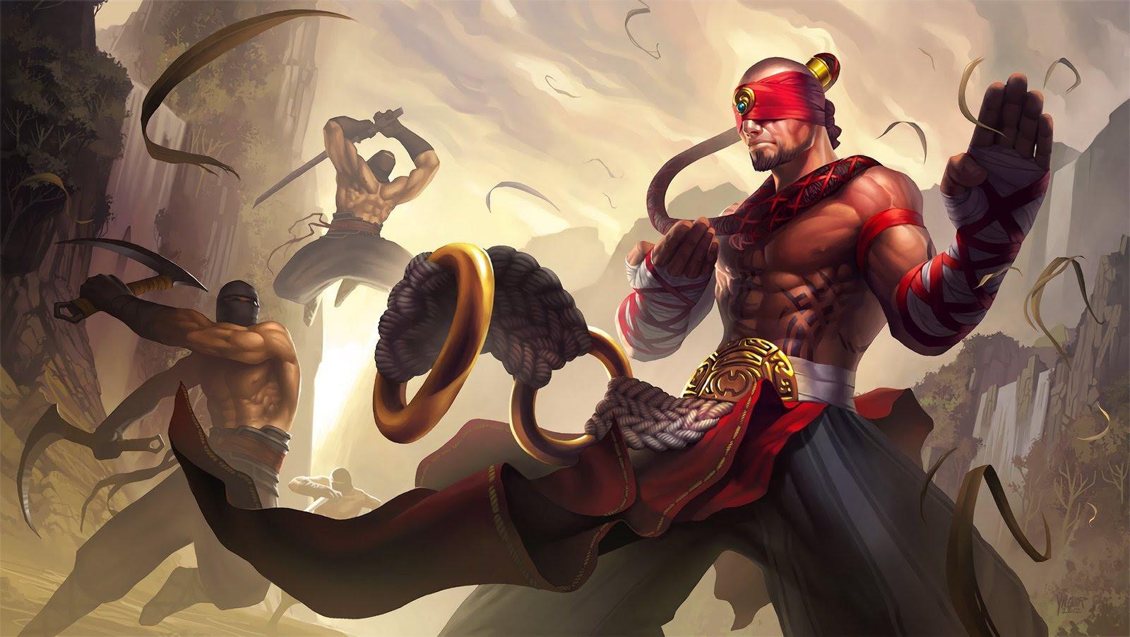 Lee Sin Wallpapers Fan Arts League Of Legends Lol Stats