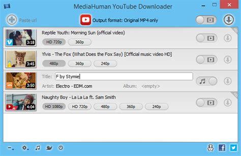 mediahuman youtube downloader    software