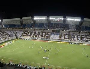 Mosaico ABC - Arena das Dunas (Foto: Augusto Gomes/GloboEsporte.com)