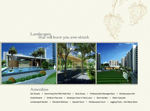 Amenities at Pebbles II by Abhinav Group & Rainbow Housing, 2 BHK & 3 BHK Flats, behind DSK Toyota Showroom, at Bavdhan Budruk, Pune 411021