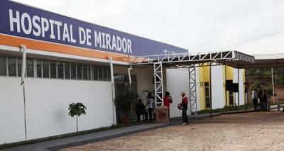 O Hospital de Mirador só funcionou uma semana na gestão Ricardo Murad