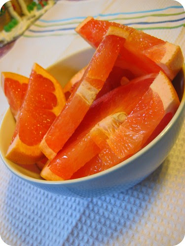 Grapefruit is my favorite.