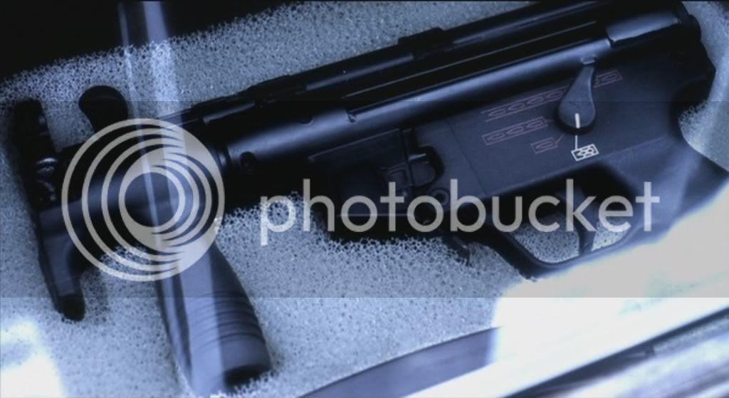 H&K MP5KA4 Close