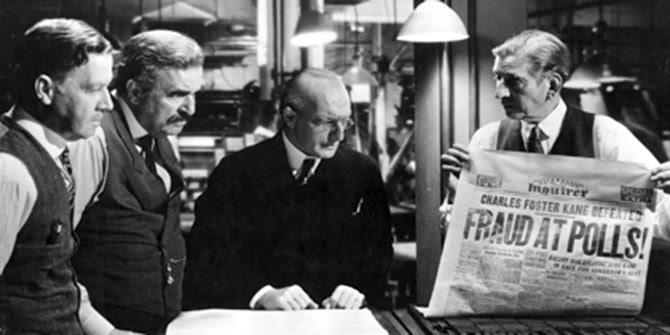 Still from the film Citizen Kane