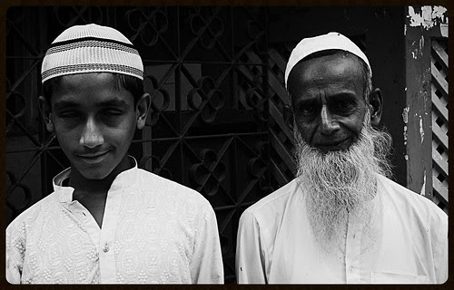 The Blind Beggar Boy And His Handler by firoze shakir photographerno1