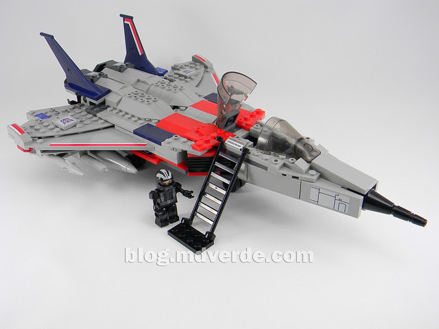 Transformers Starscream - Kre-O - modo alterno