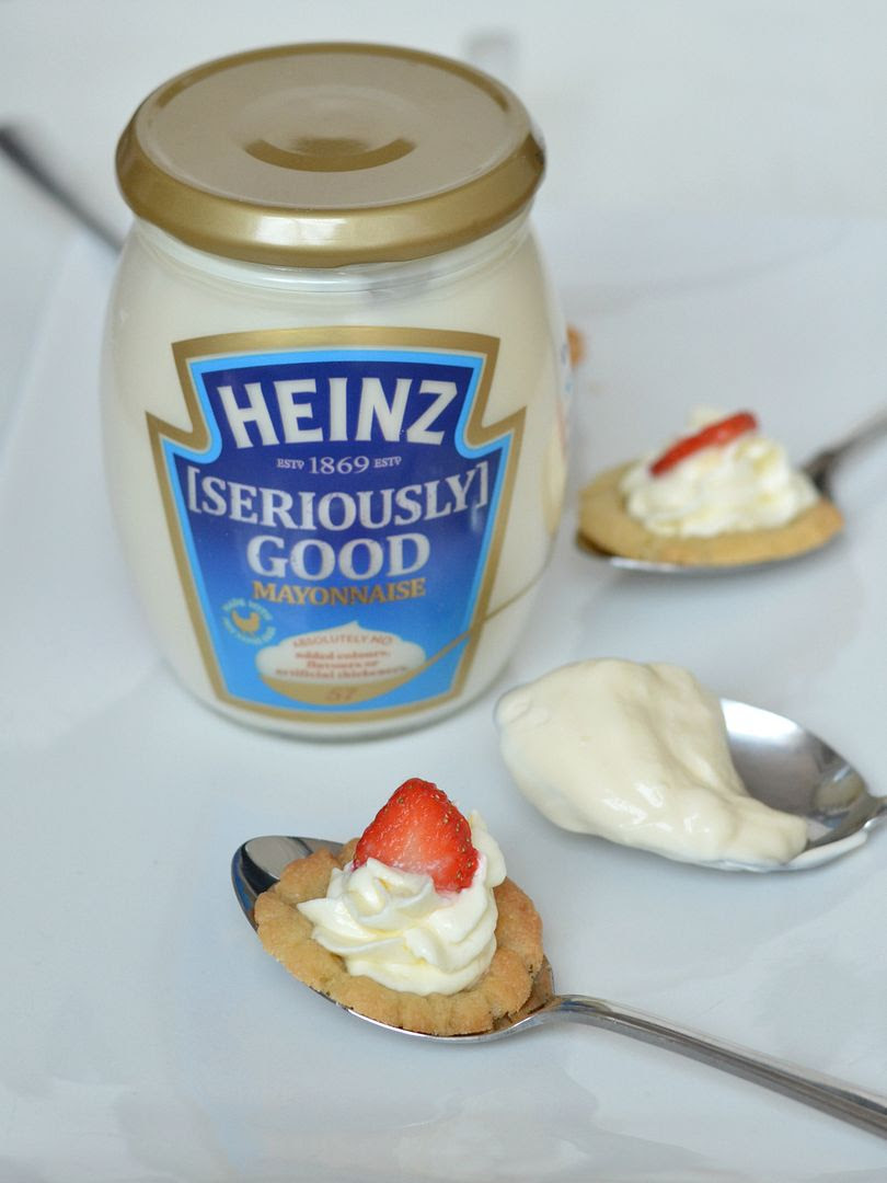 Seriously Good Strawberry & Lemon Dessert Spoon Cheesecakes