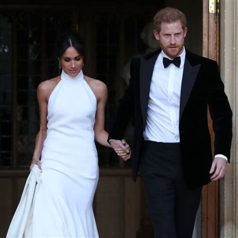 Meghan Markle Chooses Stella McCartney for Her Second