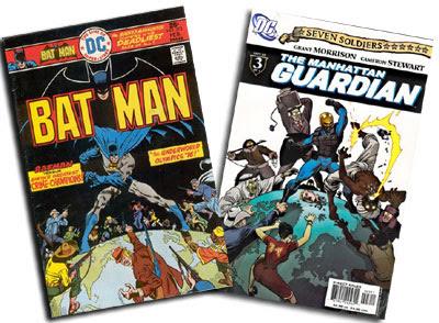 Batman #272 and Manhattan Guardian #3