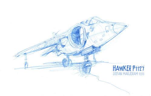 Hawker P1127 by Stefan Marjoram