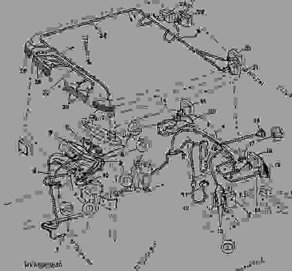John Deere Tractor Wiring Harnes