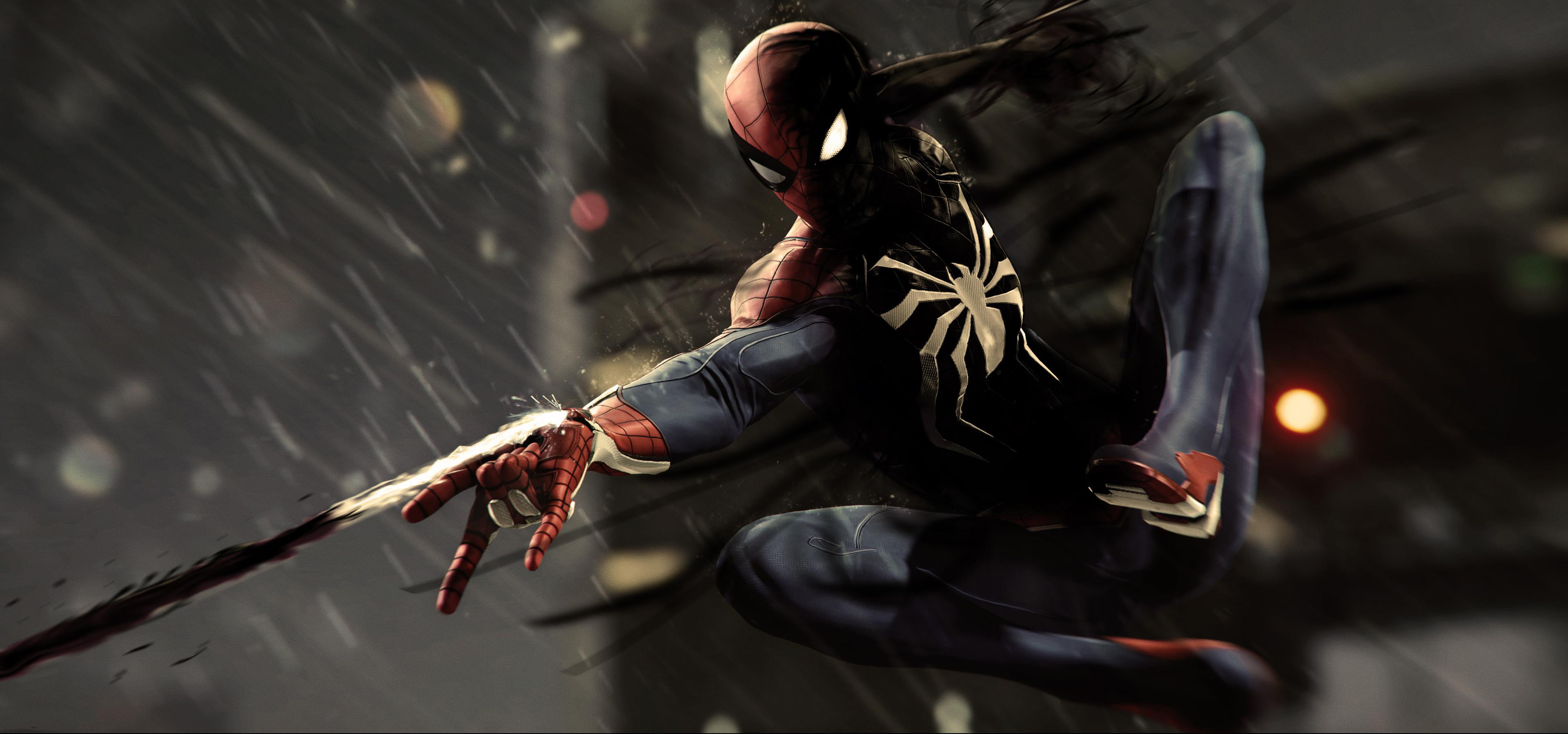 Black Spiderman Ps4 Pro 4k, HD Games, 4k Wallpapers, Images, Backgrounds, Photos and Pictures