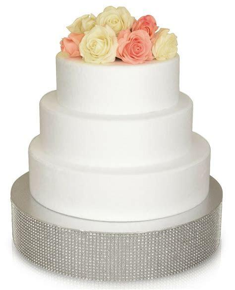"""OCCASIONS"" Wedding Cake Stand Silver/ Gold Rhinestone"