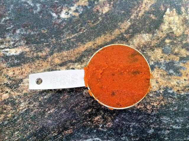 1/4 Cup Homemade Tomato Paste