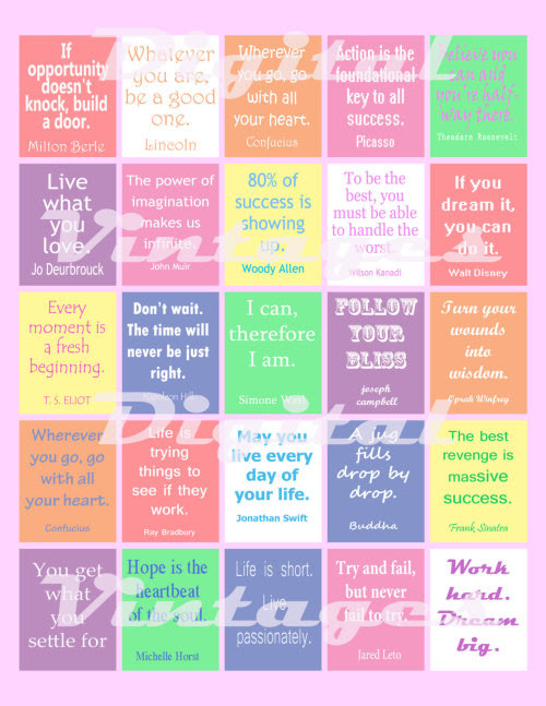 quote stickers | Sarah Ganly
