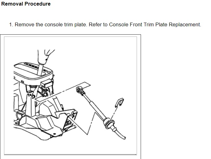 2006 Chevy Cobalt Shifter Assembly Diagram