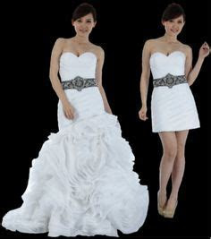 1000  images about Convertible Wedding dresses on