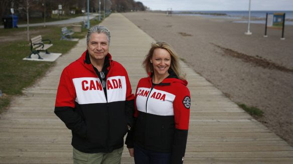 Jeff Bauer and wife Karen Simpson are hoping to be selected for their dream job spending 5-months hiking across the country on the Trans Canada Trail.