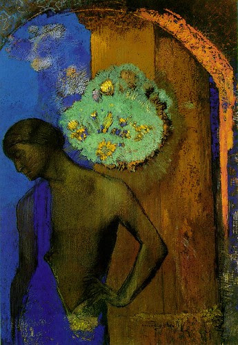 Saint John, 1892, Odilon Redon, Pastel over charcoal, 42.5 x 29