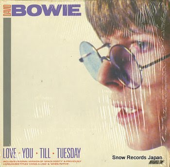 BOWIE, DAVID love you still tuesday
