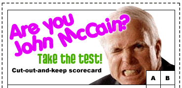 Are You John McCain?