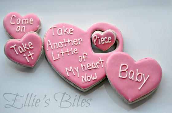 Janis Joplin Valentine Cookies (Ellie's Bites)