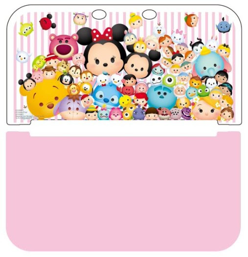 Wallpaper Disney Tsum Tsum Pink
