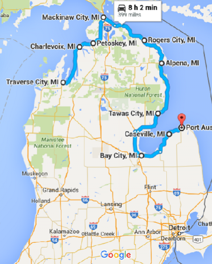 10 Places You Can Go On One Tank Of Gas In Michigan