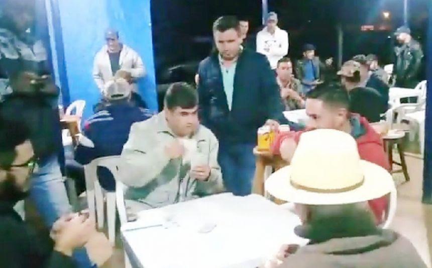 QUARTAS DE FINAL DO CAMPEONATO MUNICIPAL DE TRUCO.