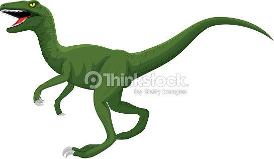 ベクトル ラプター恐竜イラスト ベクトルアート Thinkstock