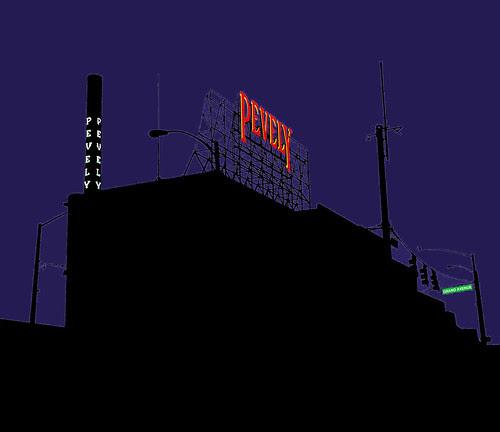 Dark Night for Pevely