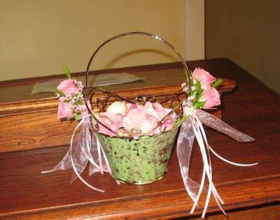 Decorate a Flower Girl Baskets   Decorating for Weddings