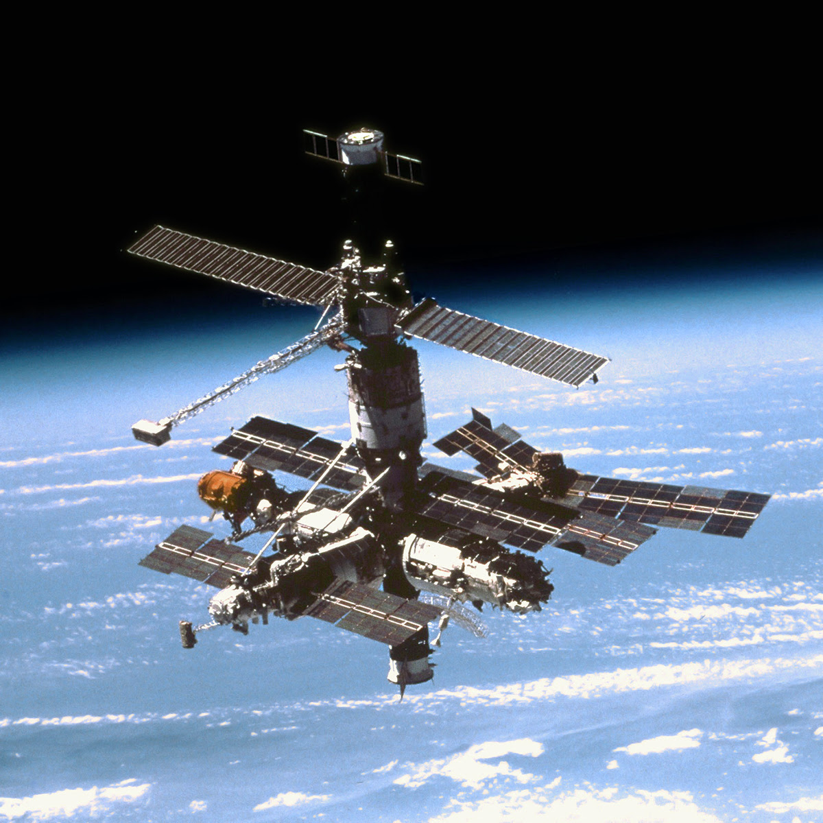 On This Day in Space! May 31, 1990: Kristall module launches to Mir Space Station