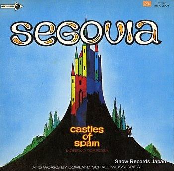 SEGOVIA, ANDRES castles of spain