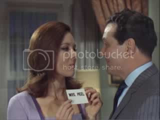 Mrs. Peel and John Steed